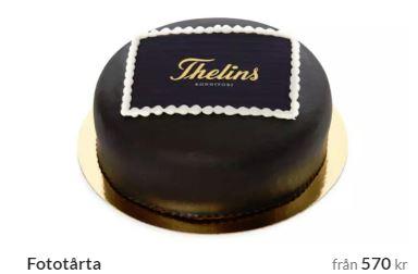 Tårta med eget foto