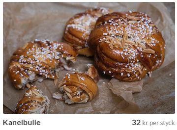 kanelbullar från stockholms cafe