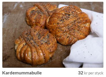 kardemummabullar från stockholm bageri