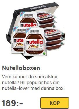 nutella box