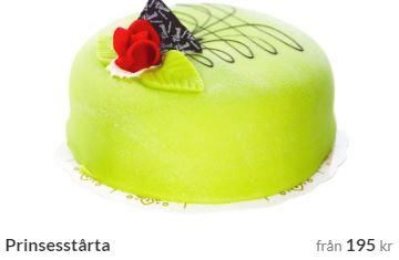 skicka prinsesstårta