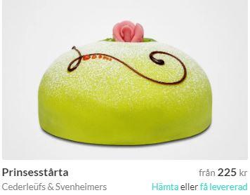 skicka prinsesstårta i göteborg