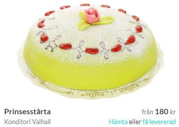 prinsesstårta malmö