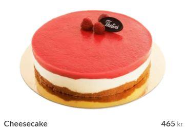 cheesecake beställa
