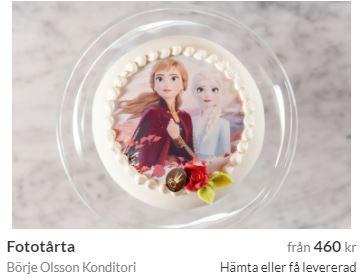 Fototårta luleå