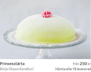 prinsesstårta från luleå