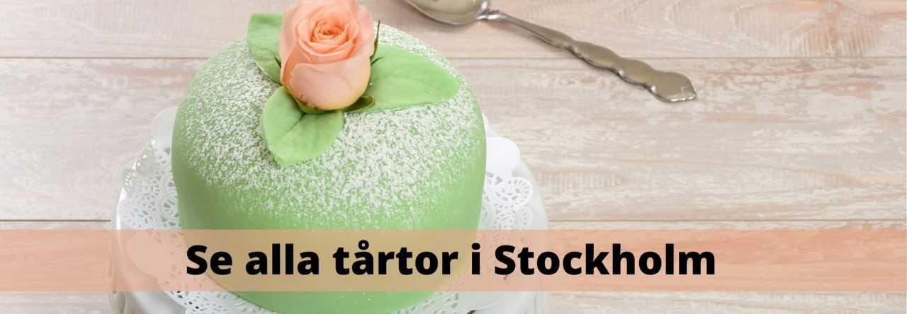 Beställa tårta i Stockholm med hemkörning