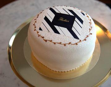 Thelins logotårta