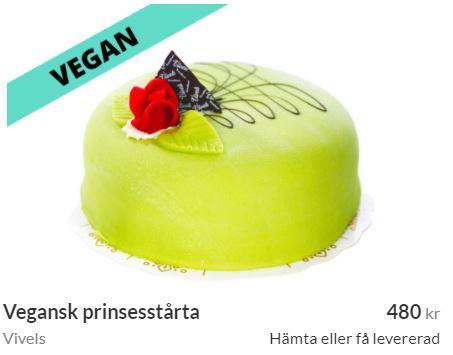 vegansk tårta stockholm
