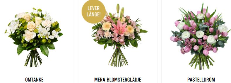 blomsterbud i stockoholm