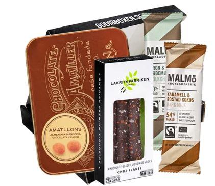 kaffe och choklad box