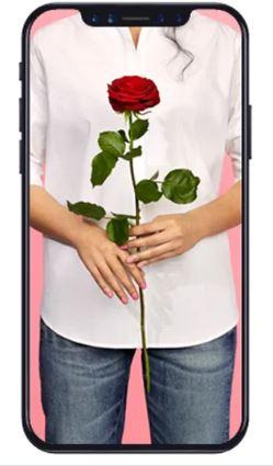skicka en ros med telefonen