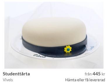 studenttårta i Stockholm beställa